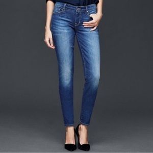 GAP 1969 Alway Skinny Jeans Crystal Wash